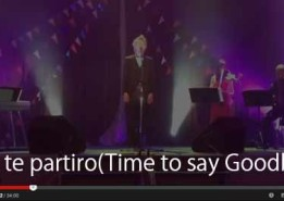 Con te partiro  (time to say goodbye)