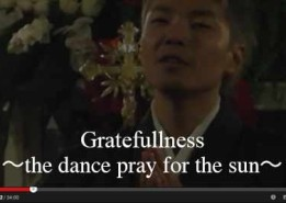 Gratefullness~the dance pray for the sun