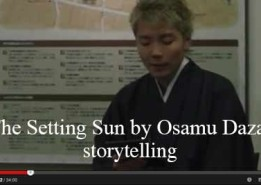 The Setting Sun by Osamu Dazai, storytelling